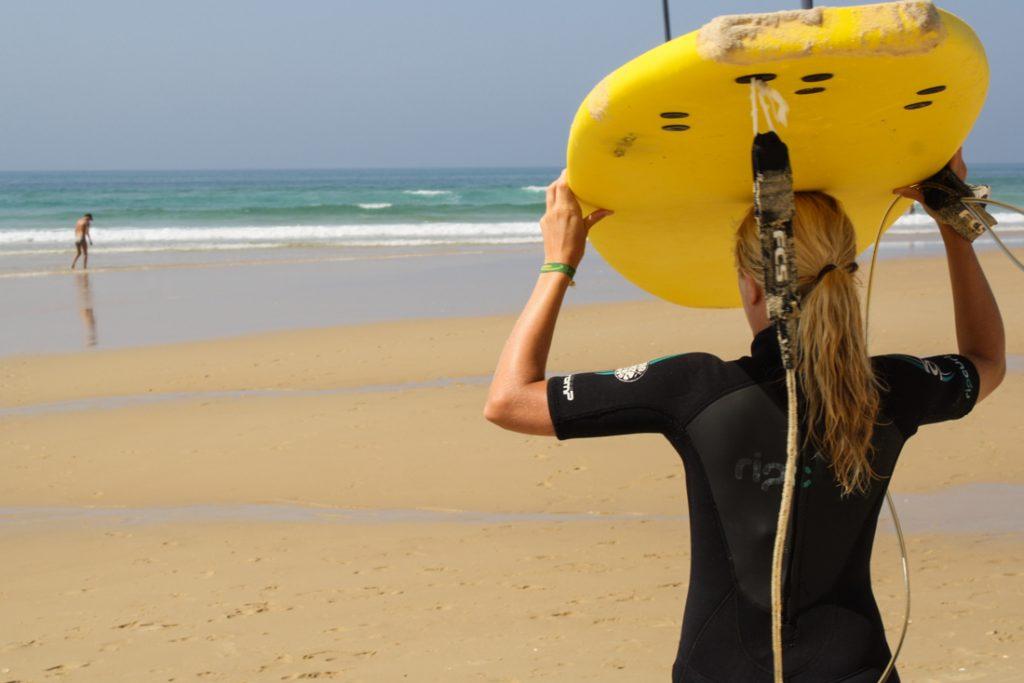 Frankreich-Surfen-Mimizan